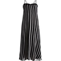 Długie sukienki: Nanushka HIGHLAND Długa sukienka black/white