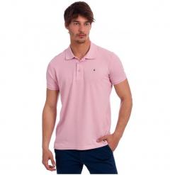 Polo Club C.H..A Koszulka Polo Męska Xxl Różowa. Niebieskie koszulki polo marki Oakley, na lato, z bawełny, eleganckie. W wyprzedaży za 149,00 zł.