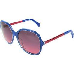 """Okulary przeciwsłoneczne damskie aviatory: Okulary przeciwsłoneczne """"JC653S 90B"""" w kolorze niebiesko-czerwonym"""
