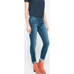 Pepe Jeans - Jeansy Soho. Niebieskie jeansy damskie rurki Pepe Jeans. W wyprzedaży za 229,90 zł.