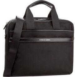 Torba na laptopa PORSCHE DESIGN - Lane 4090002570  Black 900. Czarne plecaki męskie marki Porsche Design, z materiału. W wyprzedaży za 1169,00 zł.
