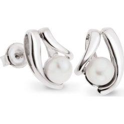 Kolczyki damskie: PROMOCJA Srebrne Kolczyki – srebro 925, Perła
