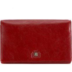 Portfel damski 22-1-409-3. Czerwone portfele damskie Wittchen, ze skóry. Za 499,00 zł.