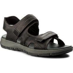Sandały CLARKS - Brixby Shore 261315457 Black Leather. Czarne sandały męskie skórzane Clarks. W wyprzedaży za 199,00 zł.