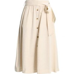 Spódniczki: Springfield FALDA MIDI CINTUR Spódnica trapezowa beige/roasted
