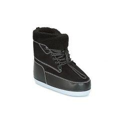 Śniegowce Kenzo  NEBRASKA. Czarne buty zimowe damskie marki Kenzo. Za 975,20 zł.