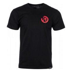 T-shirty męskie: Meatfly T-Shirt Męski Bruce L Czarny