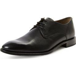 Buty wizytowe męskie: Gordon & Bros. – Męskie buty sznurowane ze skóry – Mirco, czarny