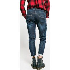 Diesel - Jeansy. Niebieskie jeansy damskie slim marki Diesel, z podwyższonym stanem. W wyprzedaży za 579,90 zł.