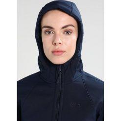 Jack Wolfskin ROCK VALLEY Kurtka Softshell midnight blue. Niebieskie kurtki sportowe damskie marki Jack Wolfskin, m, z materiału. W wyprzedaży za 524,30 zł.