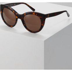 Tory Burch Okulary przeciwsłoneczne brown solid. Brązowe okulary przeciwsłoneczne damskie aviatory Tory Burch. Za 719,00 zł.