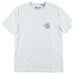 Mustang T-Shirt Męski, Xxl, Biały. Czarne t-shirty męskie marki Mustang, l, z bawełny, z kapturem. Za 78,00 zł.