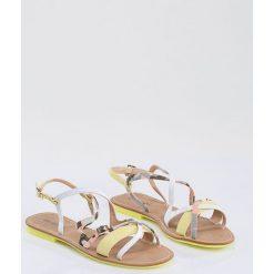 Sandały damskie: Sandały z motywem moro