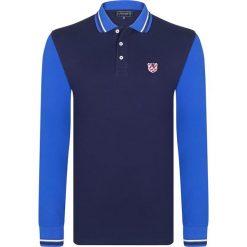 """Koszulki polo: Koszulka polo """"Block"""" w kolorze granatowo-niebieskim"""