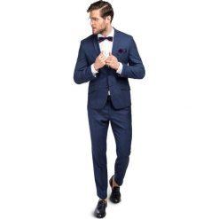 Garnitur LEONARDGO GANS000107. Niebieskie garnitury marki Giacomo Conti, m, z tkaniny, klasyczne. Za 1999,00 zł.