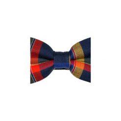 Mucha gotowa bowstyle Kolorowa kratka. Szare muchy męskie marki Mayoral, l, z bawełny, z klasycznym kołnierzykiem. Za 75,00 zł.