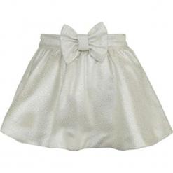 """Spódnica """"Anna"""" w kolorze kremowym. Białe spódniczki dziewczęce z falbankami Paglie, New G.O.L & more, midi. Za 102,95 zł."""