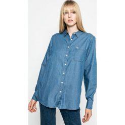 Lee - Koszula. Niebieskie koszule damskie marki Lee, l, z bawełny, casualowe, z klasycznym kołnierzykiem, z długim rękawem. W wyprzedaży za 139,90 zł.