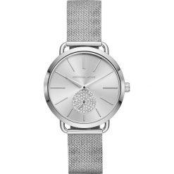 Zegarek MICHAEL KORS - Portia MK3843 Silver/Silver. Szare zegarki damskie Michael Kors. Za 1149,00 zł.