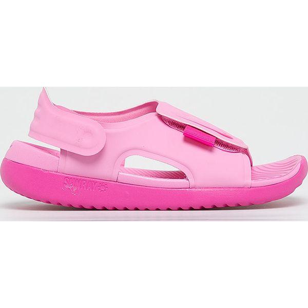 58a52fda200016 Nike Kids - Sandały dziecięce Sunray Adjust 5 - Niebieskie sandały  chłopięce Nike Kids, z materiału, bez zapięcia. W wyprzedaży za 99,90 zł.