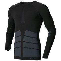 Odlo Koszulka męska Evolution Warm czarna r. L (180902). Czarne koszulki sportowe męskie Odlo, l. Za 269,95 zł.