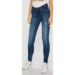 Noisy May - Jeansy Lucy. Niebieskie jeansy damskie rurki marki Noisy May, z bawełny. W wyprzedaży za 149,90 zł.