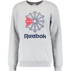 Bejsbolówki męskie: Reebok Classic BIG STARCREST CREWNECK Bluza grey