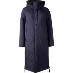 Płaszcz zimowy w kolorze granatowym. Niebieskie płaszcze damskie pastelowe Halti, Fischer, Raiski, na zimę, z materiału. W wyprzedaży za 608,95 zł.