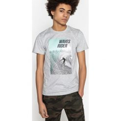 T-shirty chłopięce: Koszulka z nadrukiem, okrągły dekolt 10-16 lat