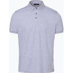 Calvin Klein - Męska koszulka polo, szary. Pomarańczowe koszulki polo marki Calvin Klein, l, z bawełny, z okrągłym kołnierzem. Za 199,95 zł.