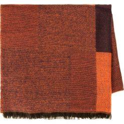 Szal damski 85-7D-X98-X3. Brązowe szaliki damskie marki Wittchen, na zimę, w geometryczne wzory. Za 69,00 zł.