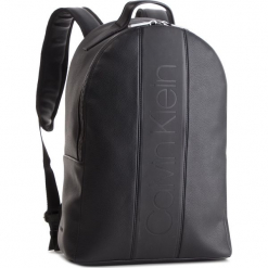 Plecak CALVIN KLEIN - Strike Round Backpack K50K504279 001. Czarne plecaki męskie Calvin Klein, ze skóry ekologicznej. Za 599,00 zł.