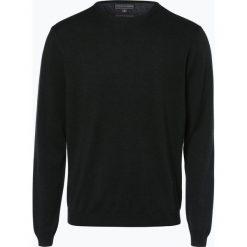 Finshley & Harding - Sweter męski – Pima-Cotton/Kaszmir, zielony. Zielone swetry klasyczne męskie Finshley & Harding, m, z bawełny. Za 229,95 zł.