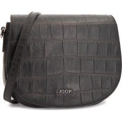 Torebka JOOP! - Croco Soft 4140003875 Black 900. Czarne listonoszki damskie JOOP!, ze skóry, na ramię. Za 1239,00 zł.
