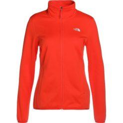 The North Face TANKEN JACKET  Kurtka z polaru fire brick red. Różowe kurtki sportowe damskie marki The North Face, m, z nadrukiem, z bawełny. Za 299,00 zł.