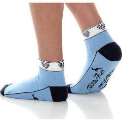Skarpetki damskie: Skarpety w kolorze błękitnym