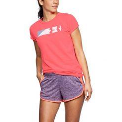 Bluzki asymetryczne: Under Armour Koszulka damska Sportstle Branded Graphic różowa r. XS (1305578-820)