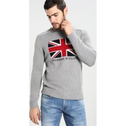 Kardigany męskie: Morris JACK ONECK Sweter grey