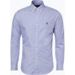 Polo Ralph Lauren - Koszula męska, niebieski. Niebieskie koszule męskie na spinki Polo Ralph Lauren, l, w paski, polo. Za 499,95 zł.