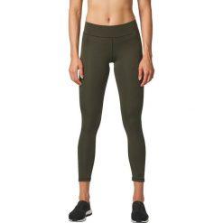 Adidas Spodnie WO LONG Tight zielone r. L (BR4036). Czarne spodnie sportowe damskie marki Adidas, l, z bawełny. Za 197,14 zł.