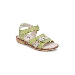 Sandały Dziecko  Citrouille et Compagnie  ANDALIA. Zielone sandały dziewczęce Citrouille et Compagnie. Za 119,20 zł.