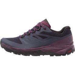 Salomon OUTLINE GTX Obuwie hikingowe graphite/potent purple. Fioletowe buty sportowe damskie marki NEWFEEL, z poliesteru, do biegania. Za 569,00 zł.