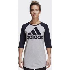 Bluzki damskie: Adidas Koszulka damska szara r. XL (DQ2966)