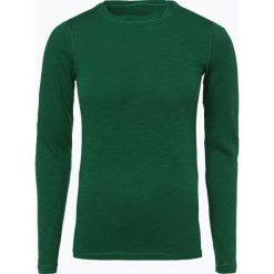 Marc O'Polo - Damska koszulka z długim rękawem, zielony. Zielone t-shirty damskie Marc O'Polo, m, polo. Za 179,95 zł.