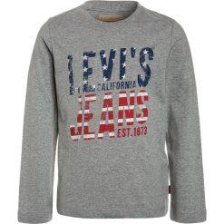 Levi's® COREL Bluzka z długim rękawem grey melange. Brązowe bluzki dziewczęce bawełniane marki Levi's®. Za 129,00 zł.