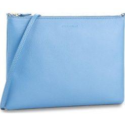 Torebka COCCINELLE - BV3 Pochette E5 BV3 55 F4 07  Azur 021. Niebieskie listonoszki damskie marki Coccinelle, w ażurowe wzory, ze skóry. W wyprzedaży za 379,00 zł.