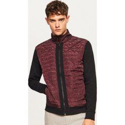 Bluza z pikowanym przodem - Bordowy. Czerwone bluzy męskie rozpinane marki Nike, s, z poliesteru. Za 99,99 zł.