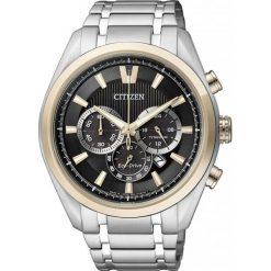 ZEGAREK CITIZEN Titanium CA4014-57E. Czarne zegarki męskie CITIZEN, ze stali. Za 1490,00 zł.