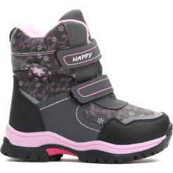 Buty dziecięce: Szare Śniegowce Projection