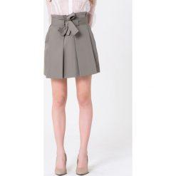 Minispódniczki: Spódnica w kolorze szarym